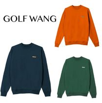送料込GOLF WANG 3D 2 TONE LOGO CREWNECK
