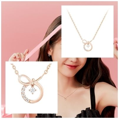 [J.Estina] 20FW新作☆IU着用☆J.RIBBON necklace