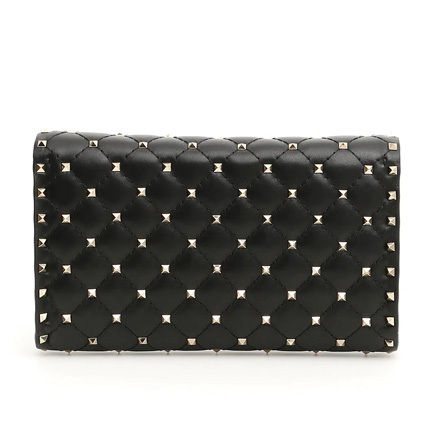 VALENTINO ショルダーバッグ・ポシェット 関税込み国内発送 Valentino☆Rockstud Spike Chain Bag(6)