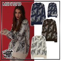 【MSKN2ND】 CHAIN JACQUARD SWEATER  3色