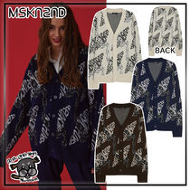 【MSKN2ND】CHAIN JACQUARD CARDIGAN  3色