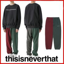 ◆thisisneverthat◆DSN Fleece Pant Multi◆正規品◆
