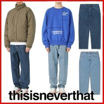 ◆thisisneverthat◆Easy Jean 2COLORS◆正規品◆