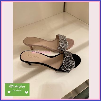 【kate spade】キラキラクリスタルが美しい♪seville sandals★