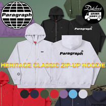 paragraph PRG Classic Heritage Zip-up Hoodie NE2736 追跡付