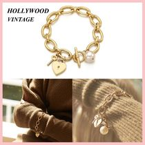 ☆★VINTAGE HOLLYWOOD★☆Open YourHeart チェーンブレスレット