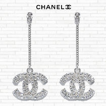 """20-21FW新作★CHANEL★注目★""""STRASS COUTURE"""" ロングピアス"""