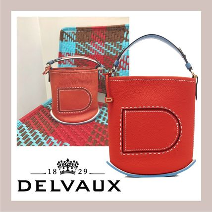 希少カラー!VIP SALE♪《DELVAUX》 Pin Mini Bucket
