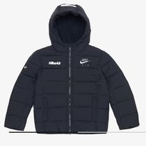 《超人気》NIKE kids☆Aero Puffer Jacket☆DC8479-010☆Black