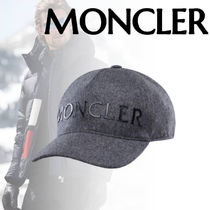 MONCLER モンクレール CASQUETTE キャップ ウール ロゴ