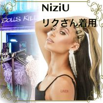 【NiziU リクさん着用】FRIENDS TO LOVERS RHINESTONE EARRINGS