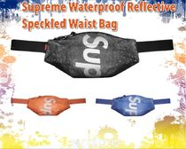 ★2020AW★Supreme Waterproof Reflective Speckled Waist Bag