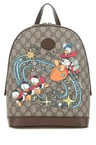 GUCCI ♠GG Supreme fabric Donal Duck backpack