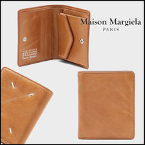 Maison Margiela☆Leather bi-fold wallet 二つ折り財布☆送料込