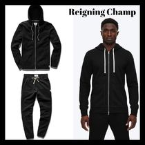 【REIGNING CHAMP】上下セットフーディアップ◎MIDWEIGHT TERRY