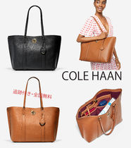 COLE HAAN★Large 通学・通勤 Tote ターンロック トートバッグ