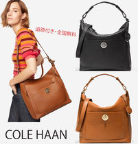 COLE HAAN★ ターンロック ショルダー バッグ 2way Turnlock