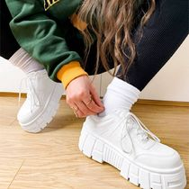 ASOS DESIGN Distant chunky trainers in white