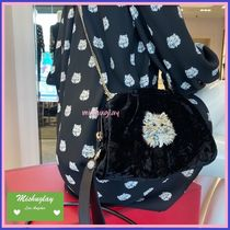 【kate spade】リュクスな猫ちゃん♪3wayで使えるparty clutch★