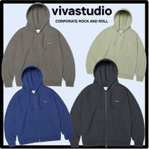 ★送料・関税込★VIVASTUDIO★BASIC LOGO HOODIE ZIP UP  J.A★