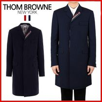 ◆THOM BROWNE◆High armhole chesterfield wool coat◆正規品◆