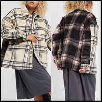 ASOS COLLUSION Unisex padded spliced check jacket