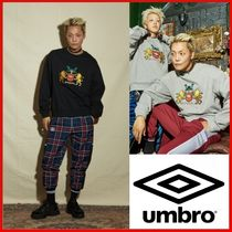 ◆UMB X VEGAN TIGER◆Embroidery Sweatshirts 全2色◆正規品◆