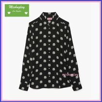 【kate spade】リュクスな猫ちゃんドット♪ cat dot top ★