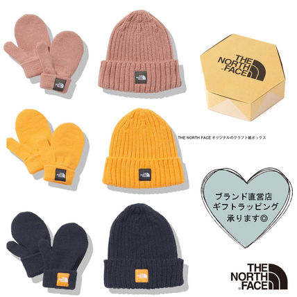 THE NORTH FACE:すぐお届け/ニットキャップ&手袋セット/ギフト