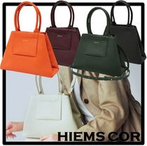★人気★HIEMS COR★HIEMS 55 HIDE CROSS BAG ORANG.E★バッグ