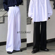 And Two Tuck Wide Slacks