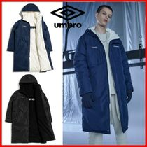 ◆UMBRO◆UNISEX fleece reversible bench coat 全2色◆正規品◆