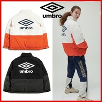 ◆UMBRO◆UNISEX COLORBLOCK SHORT DOWN JACKET 全2色◆正規品◆