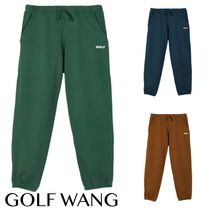 送料込GOLF WANG 3D 2 TONE LOGO TONE SWEATPANTS