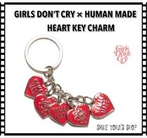 ★入手困難★HUMAN MADE X Girls Don't Cry HEART KEY CHARM