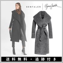 【メーガン妃着用】SENTALER★LONG WIDE SHAWL COLLAR WRAP COAT