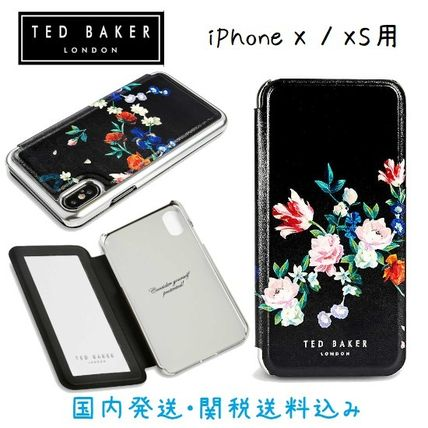TED BAKER SANDALWOOD iPhone X/XS ミラーケース iPhoneケース