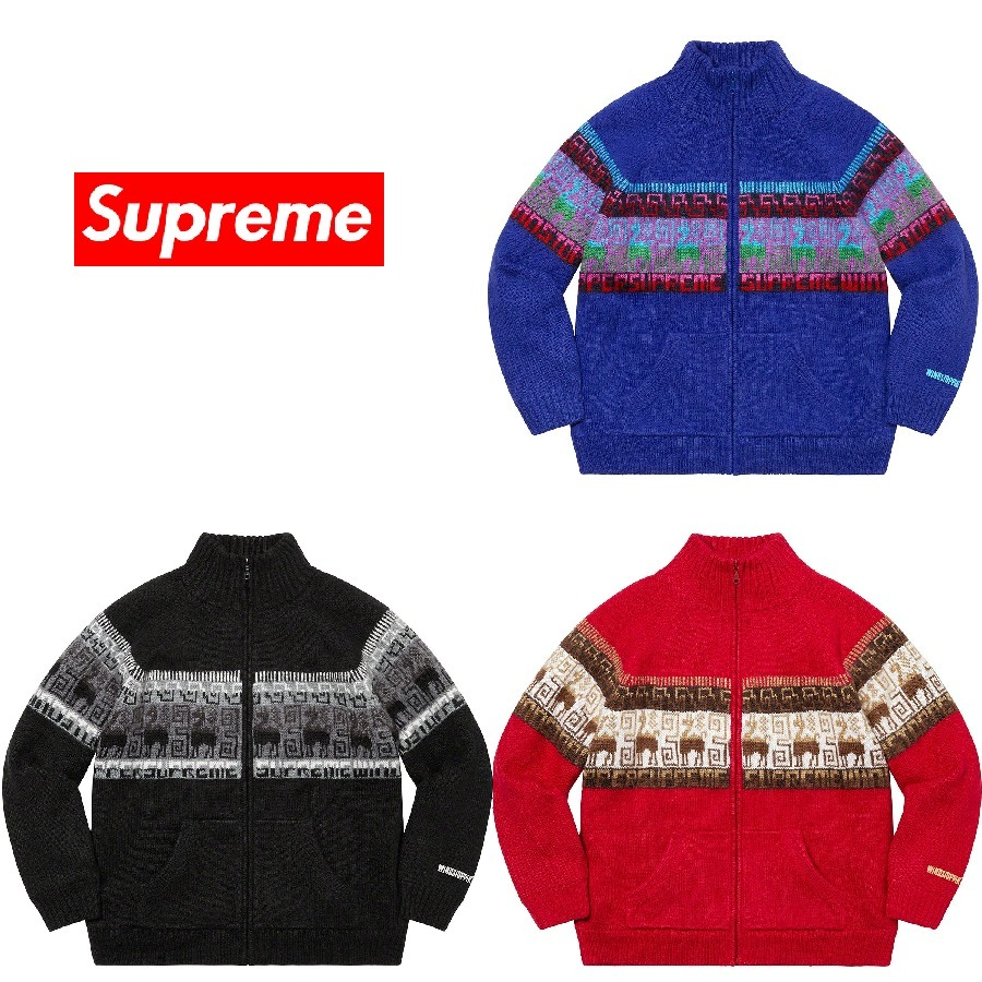 20AW Week14 Supreme Chullo WINDSTOPPER Zip Up Sweater S〜XL (Supreme/ニット・セーター) 61890849
