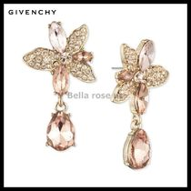 Givenchy Crystal Flower Drop Earrings 国内発送