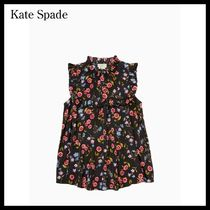 Kate Spade  wild ones meadow ruffle yoke top 国内発送