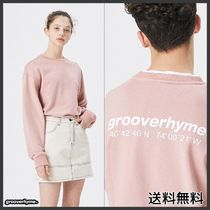 [GROOVERHYME] NYC LOCATION SWEAT SHIRTS (PINK)