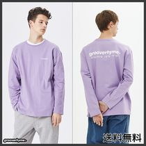 GROOVE RHYME(グルーヴライム) Tシャツ・カットソー [GROOVERHYME] NYC LOCATION LONG SLEEVE T-SHIRTS (PURPLE)