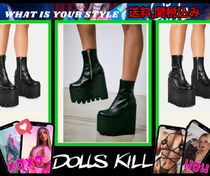 予約注文★New【 DOLLS KILL 】PLATFORM BOOTS