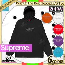 20FW /Supreme Best Of The Best Hooded L/S Top フーディー