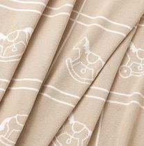Adada blanket 70x100cm(100%cotton)(Noisette)(H103137M 03)