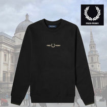 FRED PERRY(フレッドペリー) スウェット・トレーナー 【おすすめアイテム】FRED PERRY Authentic Black Sweat Shirt