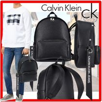 ★人気★【Calvin Klein】★LOGO STRAP BACKPAC.K★正規品★