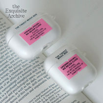 the Exquisite Archive★music box (Pink) エアーポッズケース