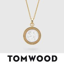 【TomWood】Cameo Eros Pendant L Gold