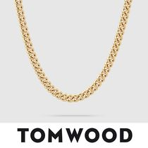 【TomWood】Rounded Curb Chain Thick Gold